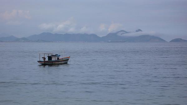 Fisherman - Rio de Janeiro, Brazil (2007). Copyright © 2007 Alex Emes